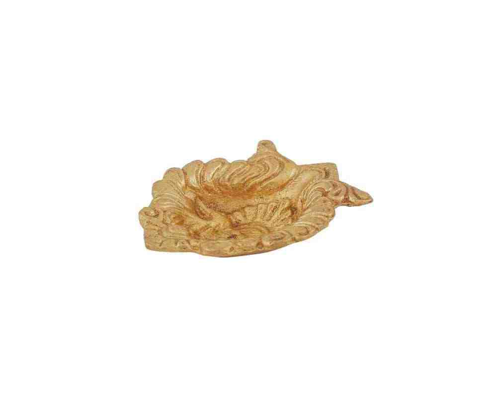 Decorative Diya Carving work in Brass