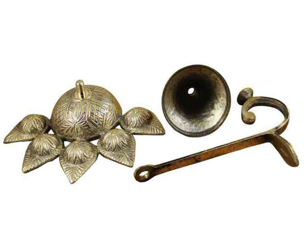 Brass Panch-Batti Diya