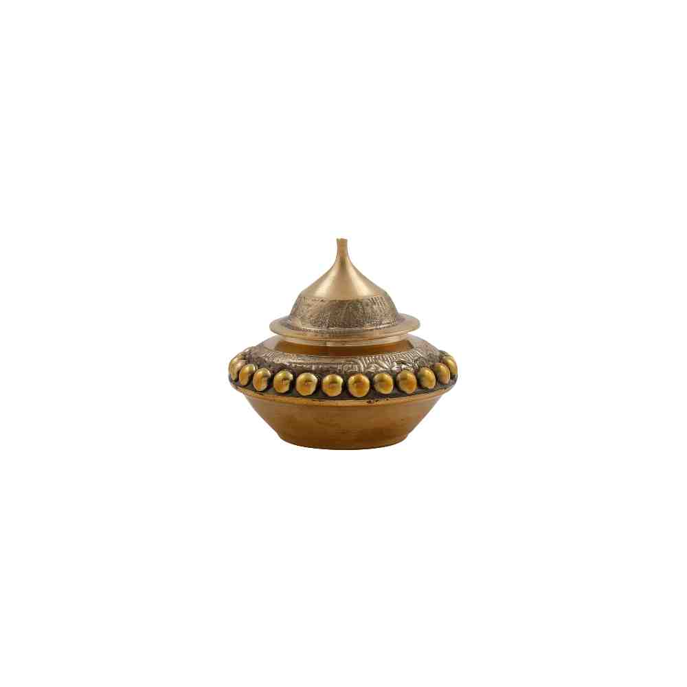 Gangajal Pot Antique in Brass