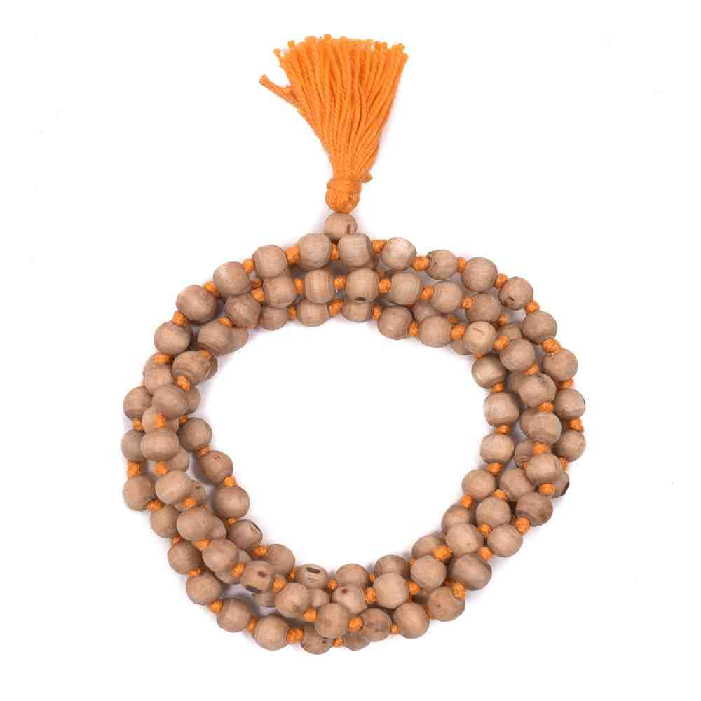 Original Tulsi Japa Mala (Orange Thread)