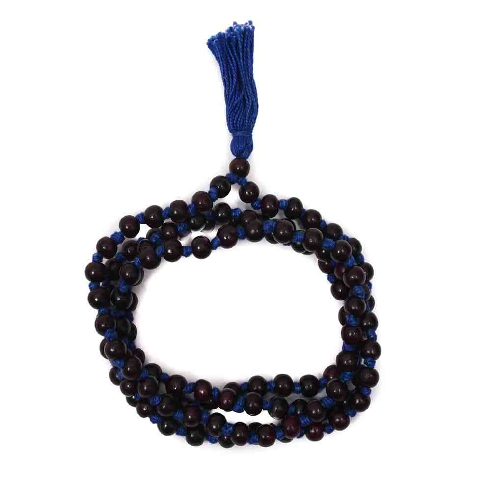 Blue Thread Chandan mala