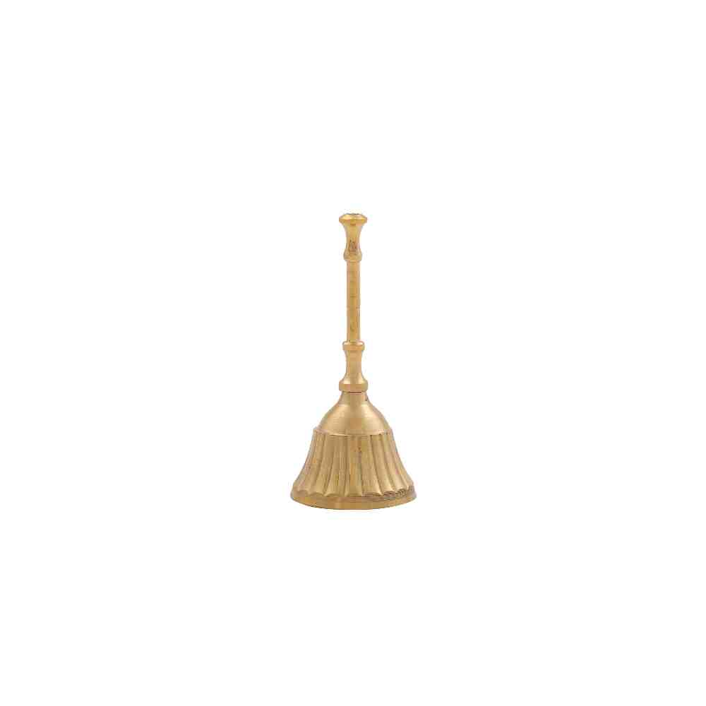 Brass Pooja Bell with Handle