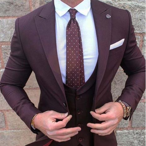 Designer Three Piece Suit