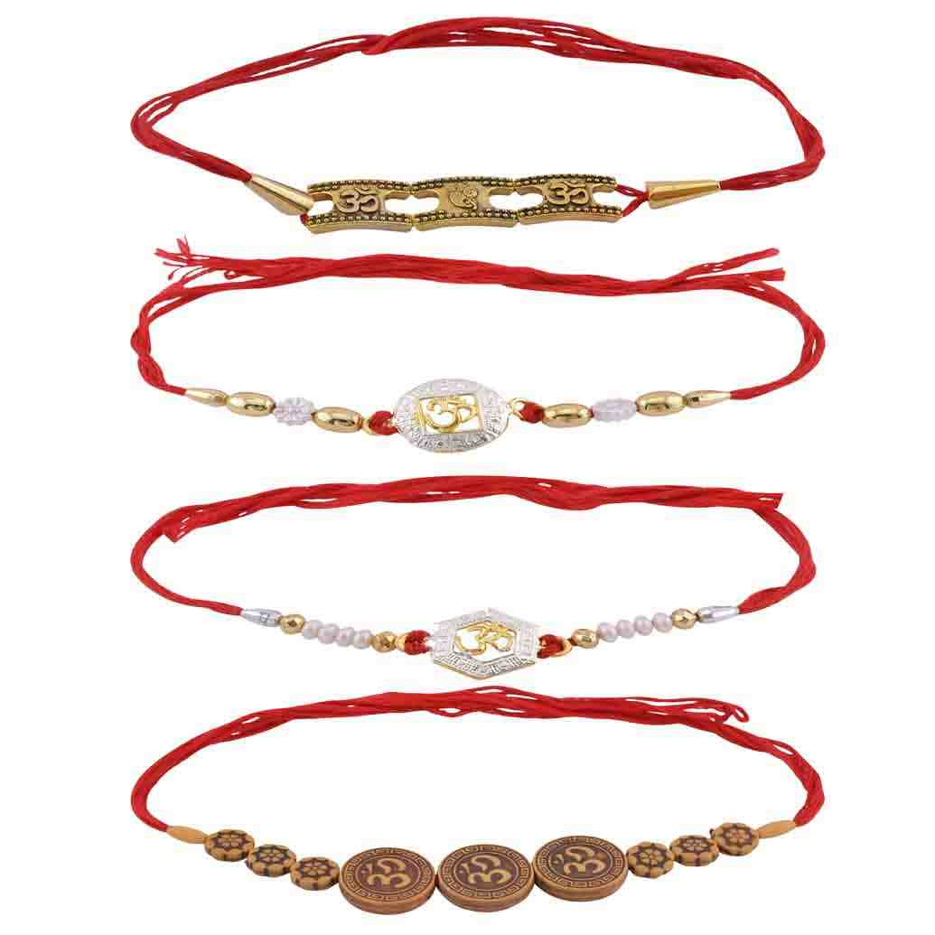 Fancy Rakhi Combo Set of 4