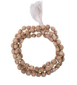 Tulsi Japa Mala In White Thread